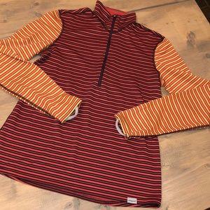Patagonia polyester half zip sweatshirt